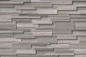 Gray Oak 3D Honed Stacked Stone