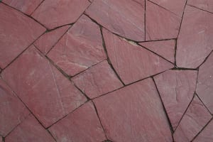 Vermont Red Flagstone