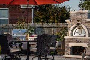 Belgard Outdoor Brick Pizza Oven