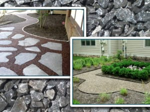 Gravel-Lok Garden Applications