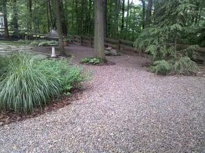 Gravel-Lok Garden Example