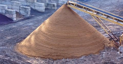 Screening Sand