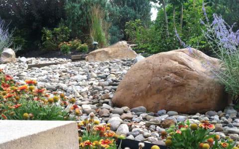Decorative Stone Mulching