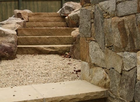Boulders and Steps