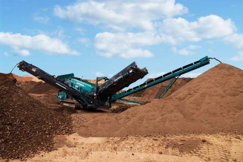 Screening Topsoil