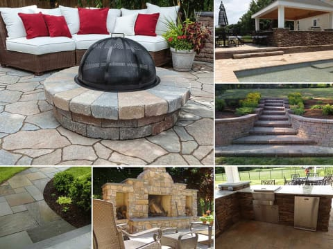 The Stone Store offers Hardscape Design and Installation Services