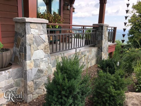 Get Real Stone Columns