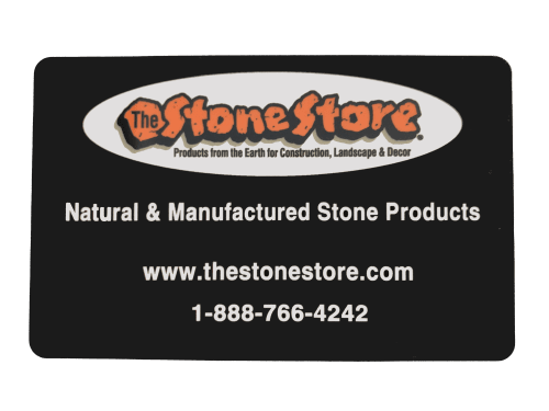 Front of Stone Store Gift Card