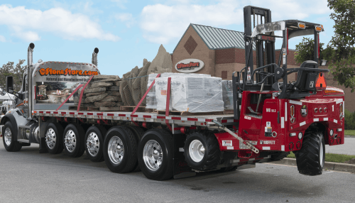 Flatbed delivery