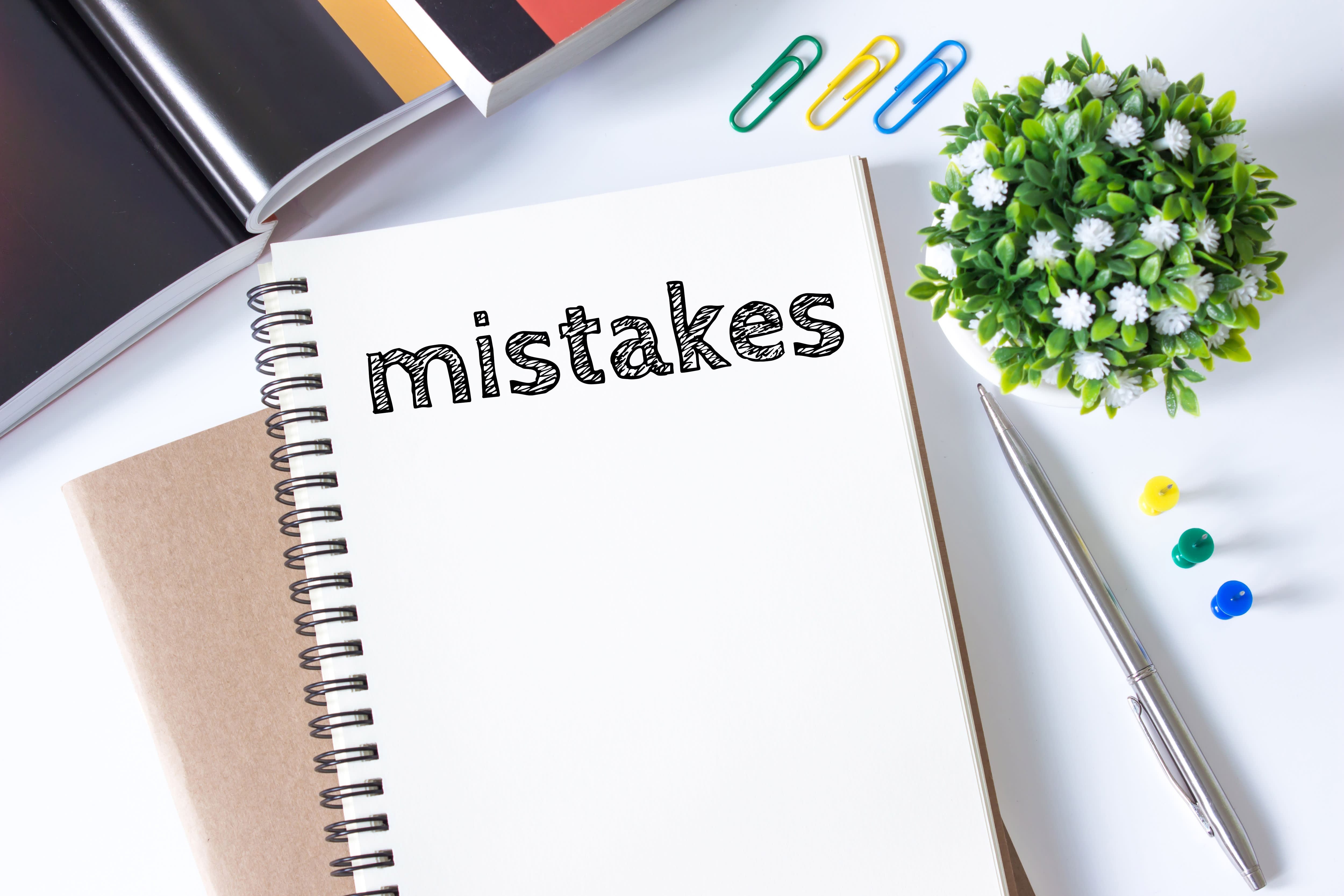 common mistakes notebook