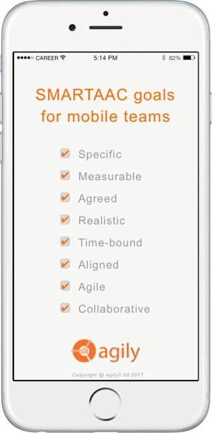 SMARTAAC goal for mobile team image