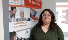 Valérie Bondroit à l'agence de Chalons en Champagne