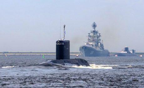 Три новейших российских подлодки застряли в Сирийском порту из-за неисправности