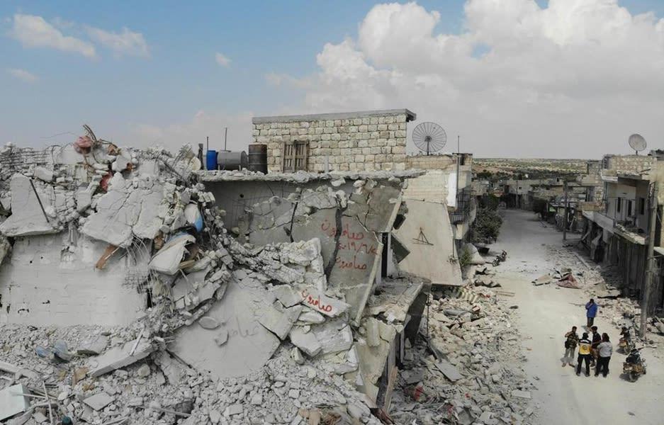 ЕС призвал режим Асада и РФ прекратить эскалацию насилия в Сирии