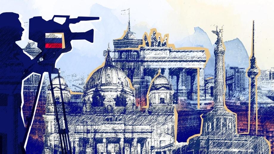Российский секретный медиацентр в центре Европы