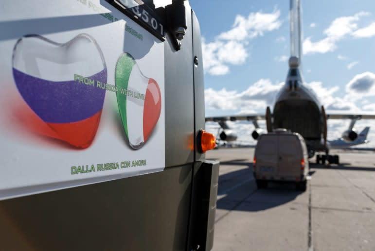 ПОД ШУМОК КОРОНАВИРУСА. КАК РОССИЙСКИЕ ВОЕННЫЕ ВЫСАДИЛИСЬ В СТРАНЕ НАТО