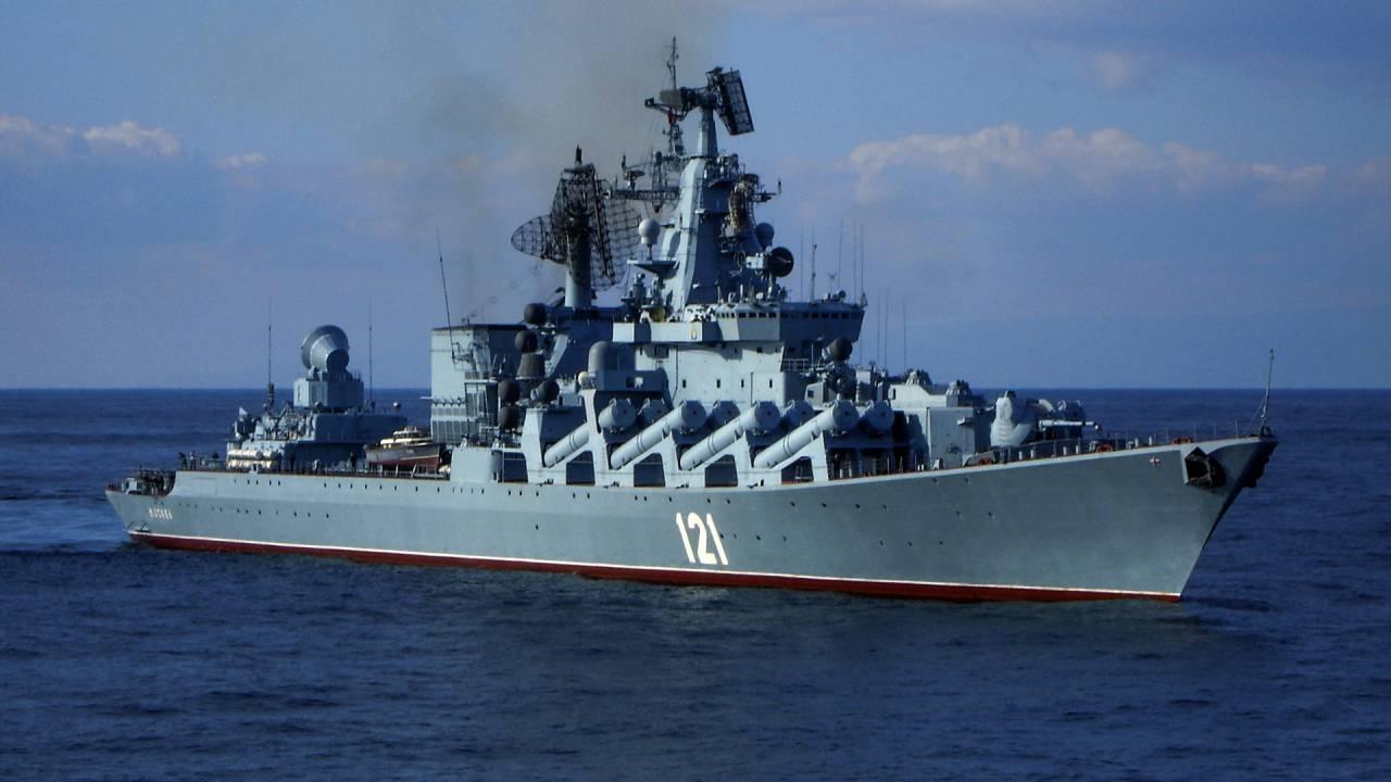 Новые доказательства участия крейсера «Москва» Черноморского флота РФ в аннексии украинского Крыма.