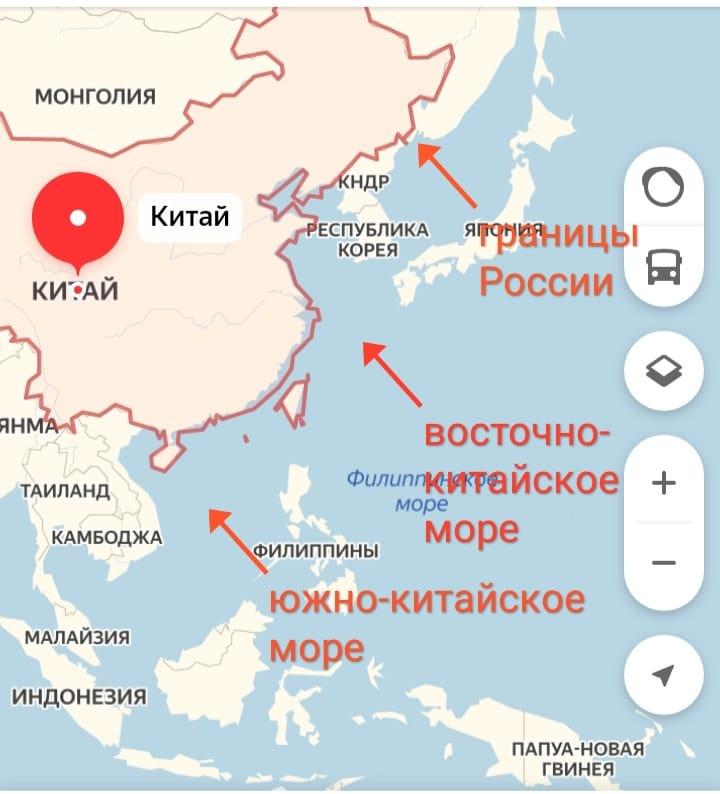 О радиации в Южно-Китайском море