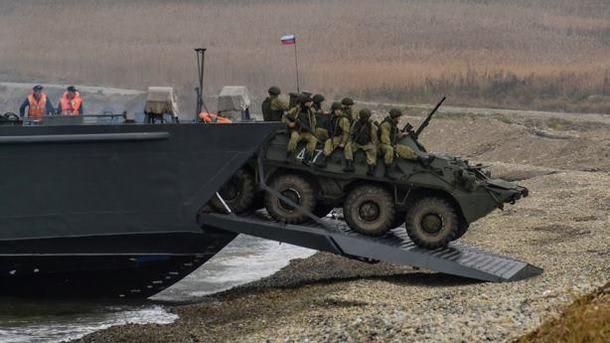 О ситуации с концентрацией российских войск в оккупированном Крыму