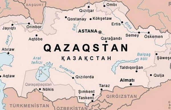 Казахи пошли в наступление: госагентство республики обнародовало карту Казахстана, в которую включены российские Оренбург и Омск