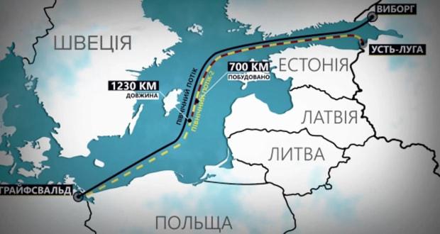 Северный поток — 2: Экологическая угроза для Балтийского моря