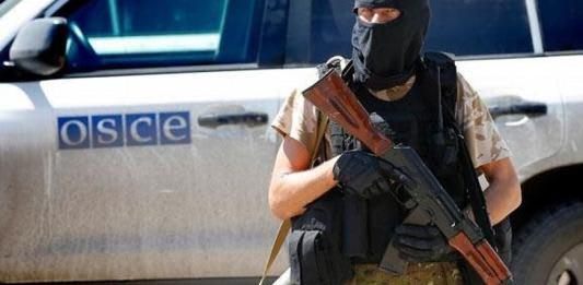 Российские оккупанты ограничивают работу миссии ОБСЕ на Донбассе.