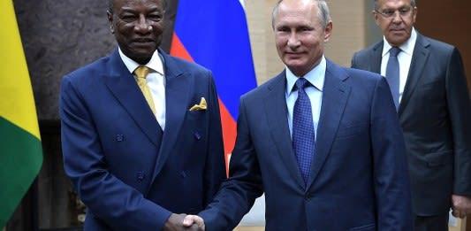 Как Россия помогла президенту Гвинеи удержаться у власти