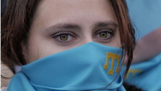 Крым, нападение на крымскотатарскую девочку в г. Бахчисарай 9 апреля 2021г.