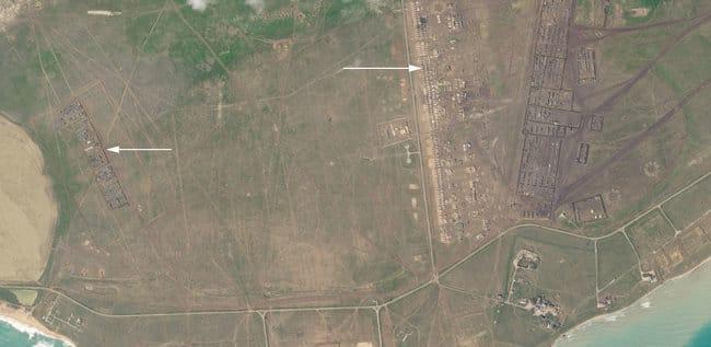 Россия устроила военный лагерь в оккупированном Крыму