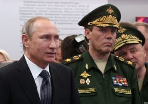 Путин и генерал Герасимов