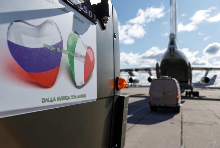 Кремль начал компанию подкупа итальянцев в целях пропаганды.