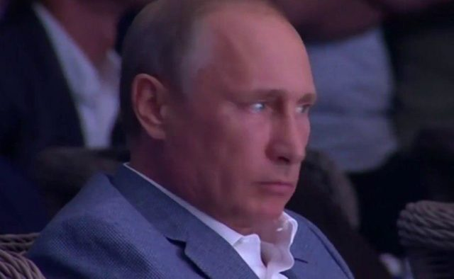 Путин торопится.