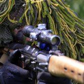 Особенности украинской национальной охоты по оккупантам. Российский снайпер больше никого не убьёт.