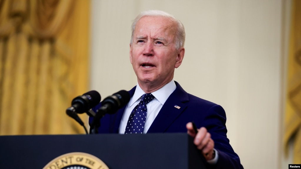 Президент США Джо Байден: Россия должна понести ответственность за свои действия