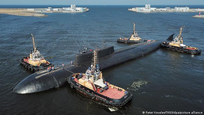 Российская атомная подлодка потеряла ход у берегов Дании