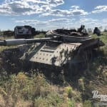 Опубликованы фотографии с места хранения разрушенной техники армии РФ в Ростовской области.