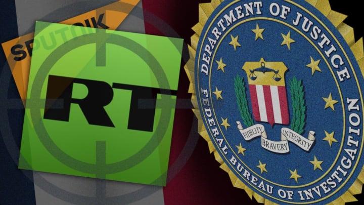 Один из филиалов РашаТудей в США был уведомлен Департаментом юстиции о том, что он должен зарегистрироваться в качестве иностранного агента, распространяющегопропаганду в Соединенных Штатах……