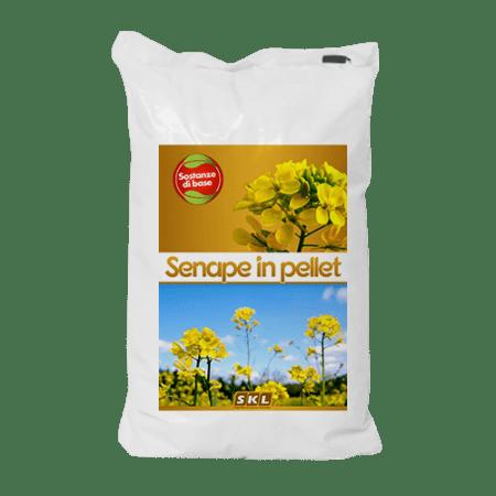 Mustard pellets