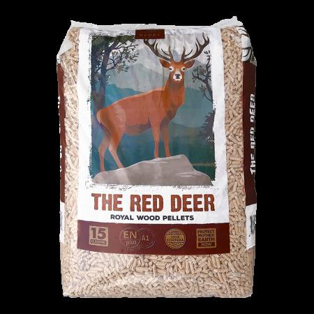 Pellet Red Deer ENPlus A1