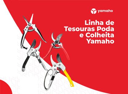 Linha de Tesouras de Poda e Colheita Yamaho