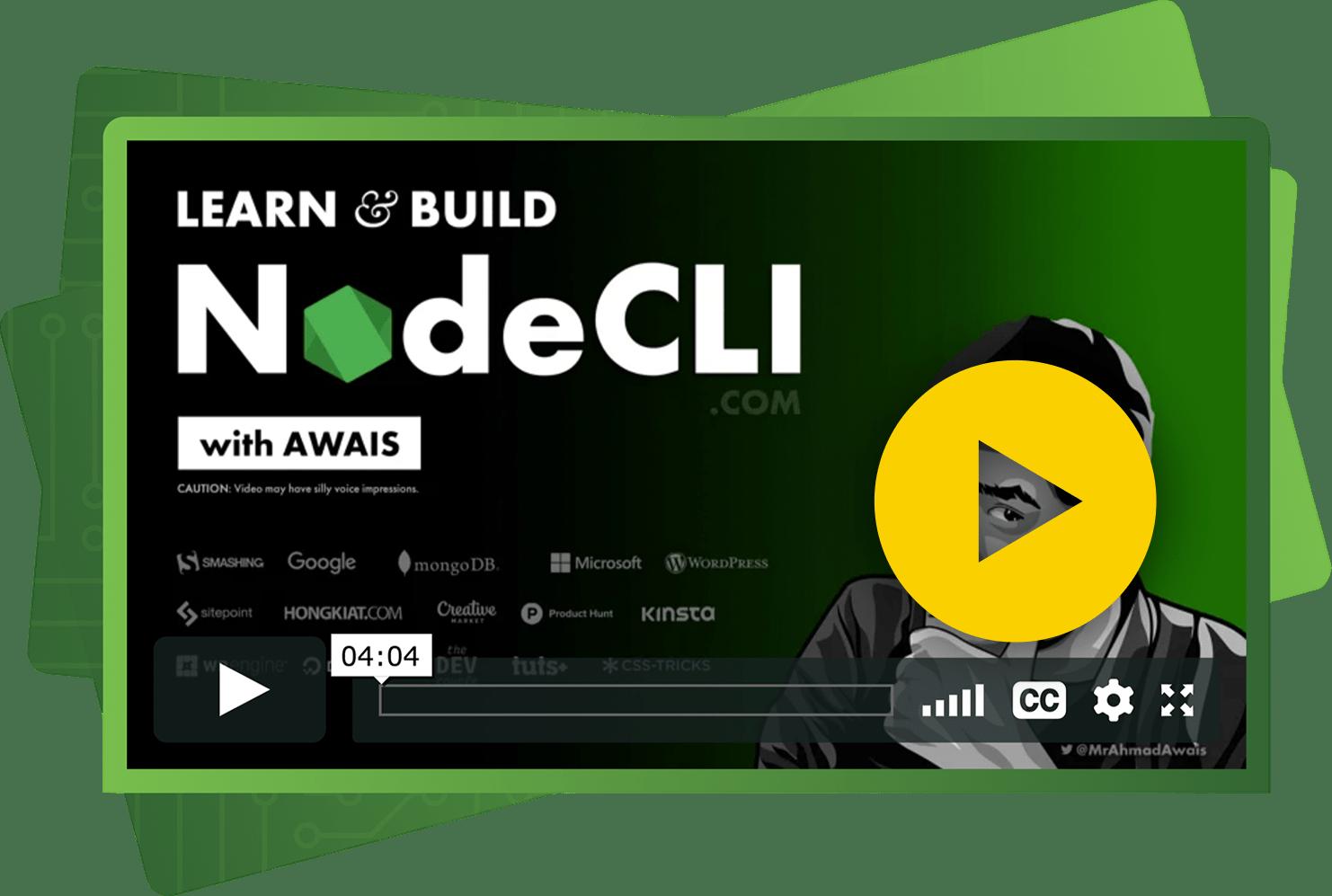 NodeCLI.com Course: Build CLI Apps