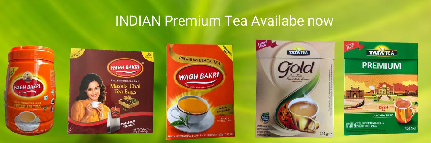 INDIAN Premium Tea Availabe