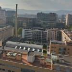 Imatge de Poblenou des de la terrassa