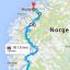 Krafttaket Sandnes-Molde (på hjul) 17-20.august