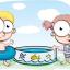 Barn på ferie