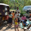 Tuktuk-bibliotek i Kambodsja