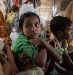 Rohingya-lapset