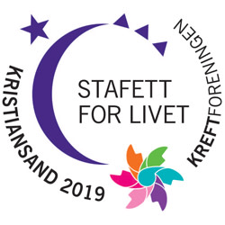 Kristiansand: Kreftforeningens Stafett for livet 2019