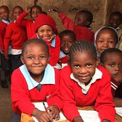 Auta koulua slummissa