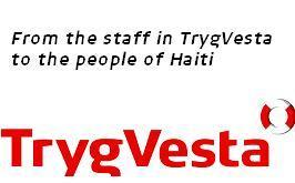 From the Staff in TrygVesta to Haiti